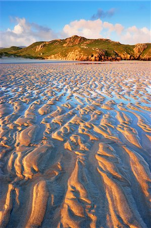 Sand Ripples on Beach at Dawn, Isle of Lewis, Scotland Stock Photo - Rights-Managed, Code: 700-03508654