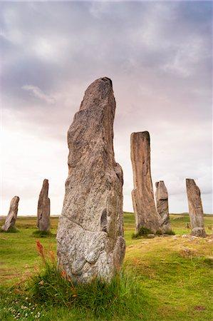 Stones of Callanish, Isle of Lewis, Scotland Stock Photo - Rights-Managed, Code: 700-03508651