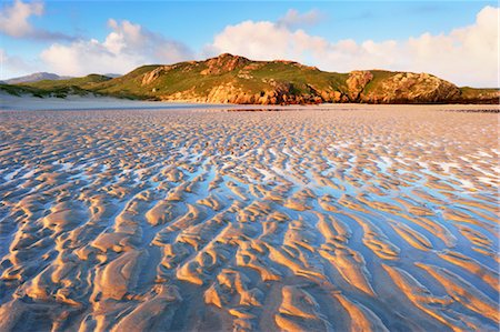 Sand Ripples on Beach at Dawn, Isle of Lewis, Scotland Stock Photo - Rights-Managed, Code: 700-03508653