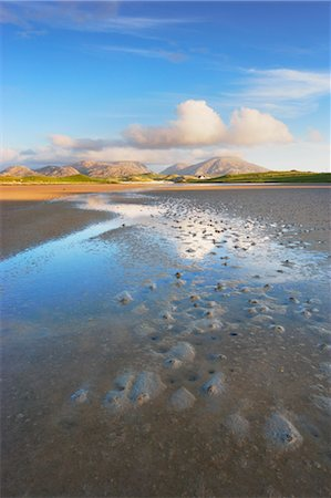 River and Salt Flats, Isle of Lewis, Outer Hebrides, Hebrides, Scotland, United Kingdom Stock Photo - Rights-Managed, Code: 700-03508665