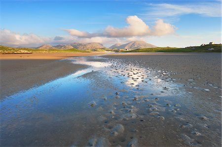 River and Salt Flats, Isle of Lewis, Outer Hebrides, Hebrides, Scotland, United Kingdom Stock Photo - Rights-Managed, Code: 700-03508666