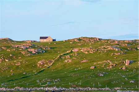 House in Hill, Isle of Lewis, Outer Hebrides, Hebrides, Scotland, United Kingdom Stock Photo - Rights-Managed, Code: 700-03508668