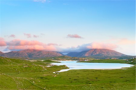 Salt Marshes and Lagoon, Isle of Lewis, Outer Hebrides, Hebrides, Scotland, United Kingdom Stock Photo - Rights-Managed, Code: 700-03508669
