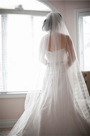 rear - Bride Stock Photo - Rights-Managed, Code: 700-03508825