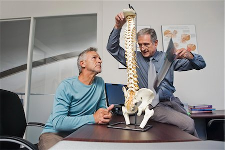 rehabilitation - Mature Man Consulting with Doctor Stock Photo - Rights-Managed, Code: 700-03501275