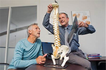 rehabilitation - Mature Man Consulting with Doctor Stock Photo - Rights-Managed, Code: 700-03501276