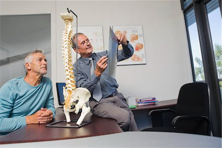rehabilitation - Mature Man Consulting with Doctor Stock Photo - Rights-Managed, Code: 700-03501277