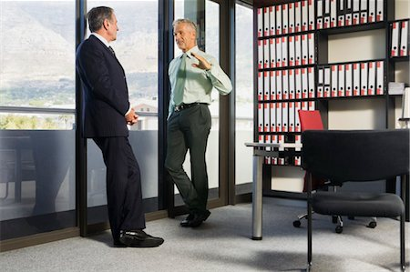 Business Executives Chatting Stock Photo - Rights-Managed, Code: 700-03503194