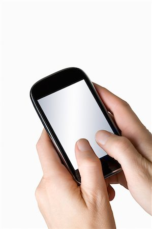 entry field - Hands Holding Smartphone Stock Photo - Rights-Managed, Code: 700-03520328