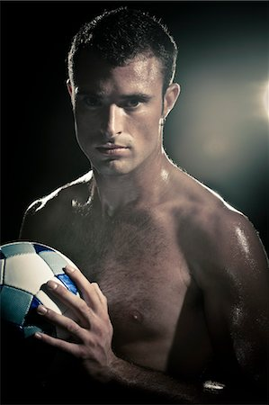 footballeur - Portrait of Soccer Player Stock Photo - Rights-Managed, Code: 700-03520682