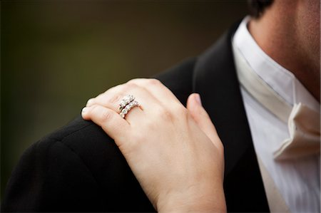 ring hand woman - Bride and Groom Stock Photo - Rights-Managed, Code: 700-03554397