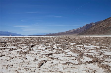 Salt Flats, Death Valley, California, USA Stock Photo - Rights-Managed, Code: 700-03556860