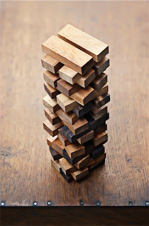 Stack of Wooden Blocks Stock Photo - Rights-Managed, Code: 700-03553409