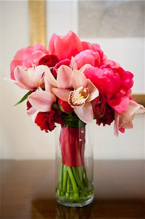 peony - Still Life of Bridal Bouquet Stock Photo - Rights-Managed, Code: 700-03567874