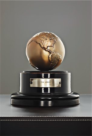 Globe on Stand Stock Photo - Rights-Managed, Code: 700-03567991