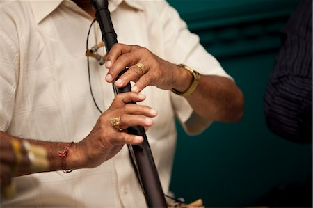 entertainment - Musician Playing at Hindu Wedding Stock Photo - Rights-Managed, Code: 700-03587187