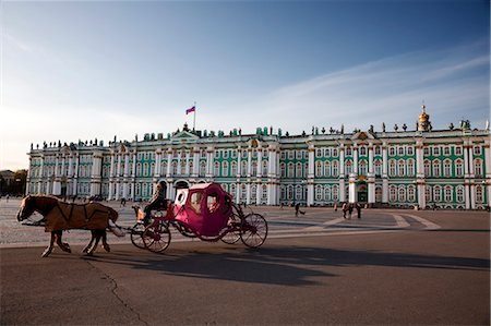 Winter Palace, Hermitage Museum, St Petersburg, Northwestern Federal District, Russia Stock Photo - Rights-Managed, Code: 700-03601379