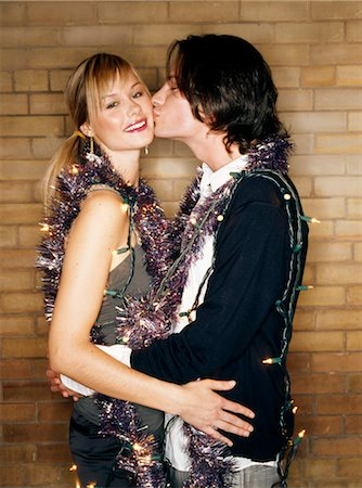 Couple Kissing Stock Photo - Rights-Managed, Code: 700-03601446