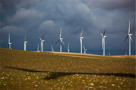 Wind Farm, Albacete, Castilla-La Mancha, Spain Stock Photo - Rights-Managed, Code: 700-03615968