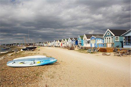 sailing boat storm - Huts at Hengistbury Head Beach, Near Bournemouth, Dorset, England Stock Photo - Rights-Managed, Code: 700-03616145