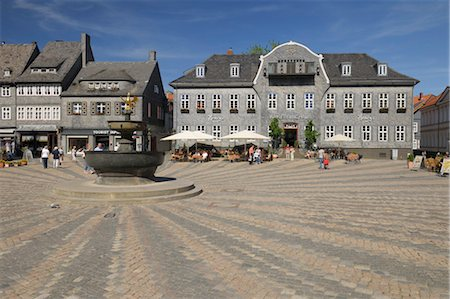 places - Kaiserringhaus, Market Square, Goslar, Goslar District, Harz, Lower Saxony, Germany Stock Photo - Rights-Managed, Code: 700-03621121
