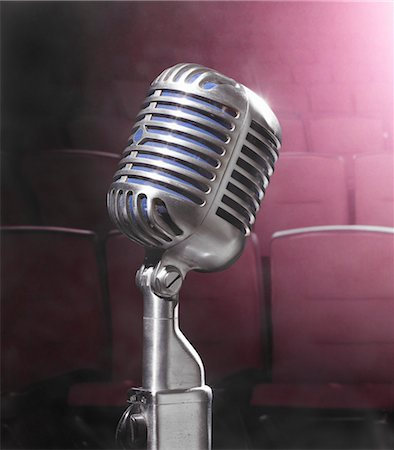 Microphone Stock Photo - Rights-Managed, Code: 700-03621324
