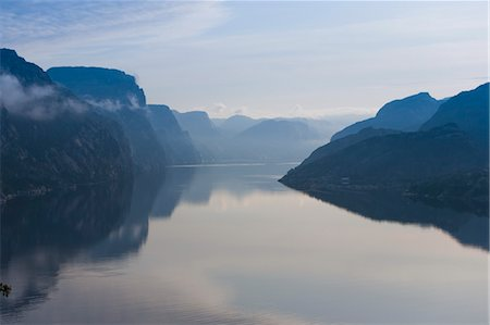 Scenic View, Lysefjorden, Rogaland, Norway Stock Photo - Rights-Managed, Code: 700-03622815