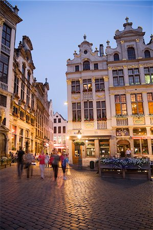 Guild Houses, Grand Place, Brussels, Belgium Stock Photo - Rights-Managed, Code: 700-03638916
