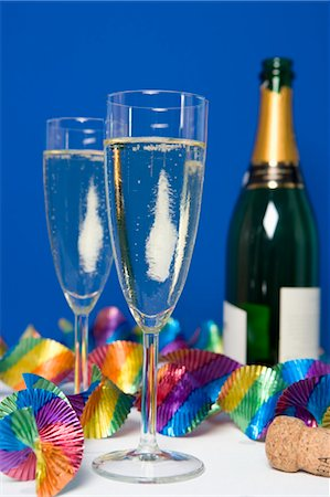 Champagne Stock Photo - Rights-Managed, Code: 700-03638941