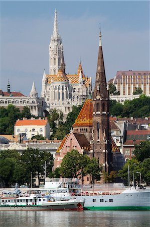 Matthias Church, Castle District, Buda, Budapest, Hungary Stock Photo - Rights-Managed, Code: 700-03638997
