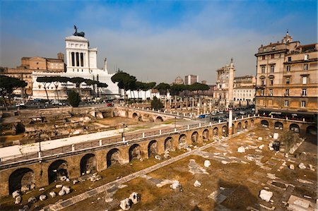 Trajan's Forum and Trajan's Market, Rome, Italy Stock Photo - Rights-Managed, Code: 700-03639098