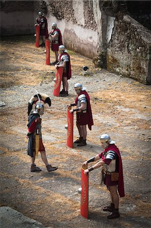 Historical Re-enactment to Celebrate the Founding of Rome on April 21, 753 BC, Rome, Italy Stock Photo - Rights-Managed, Code: 700-03639102