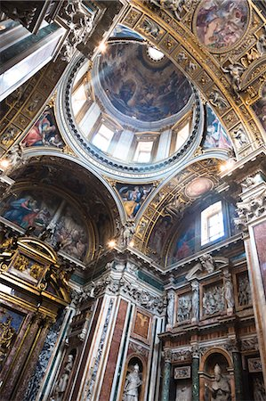 Basilica di Santa Maria Maggiore, Rome, Italy Stock Photo - Rights-Managed, Code: 700-03639142