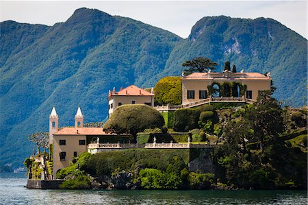 Villa del Balbianello, Lenno, Lake Como, Lombardy, Italy Stock Photo - Rights-Managed, Code: 700-03644368