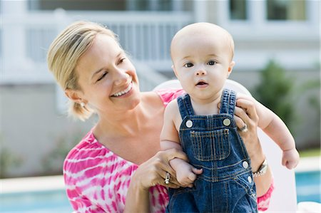 Mother and Son Outdoors Stock Photo - Rights-Managed, Code: 700-03644552