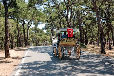Horse-drawn Carriage, Princes' Island, Istanbul Province, Turkey Stock Photo - Rights-Managed, Code: 700-03644758