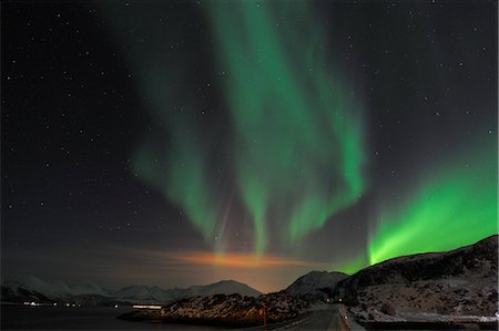 pretty - Northern Lights, Sommaroy, Tromso, Troms, Norway Stock Photo - Rights-Managed, Code: 700-03644771