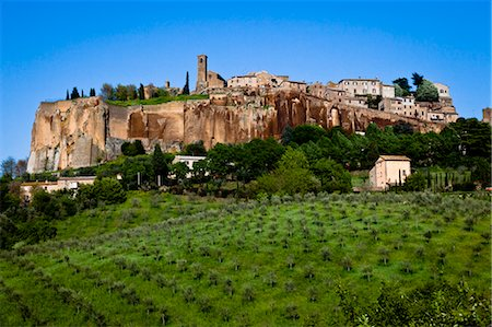 View of Orvieto, Umbria, Italy Stock Photo - Rights-Managed, Code: 700-03641192