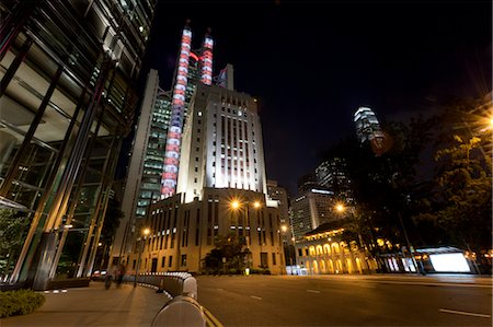 Hong Kong Island at Night, Hong Kong, China Stock Photo - Rights-Managed, Code: 700-03654442