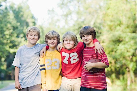 Boys with Football Stock Photo - Rights-Managed, Code: 700-03659105
