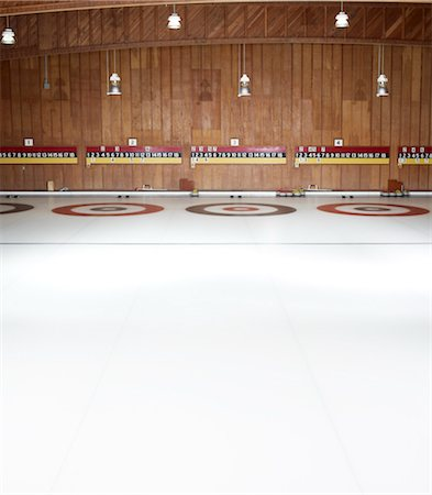 Curling Rink Stock Photo - Rights-Managed, Code: 700-03659244