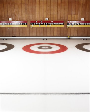 Curling Rink Stock Photo - Rights-Managed, Code: 700-03659245