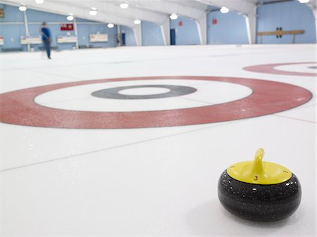 Curling Rink Stock Photo - Rights-Managed, Code: 700-03659246