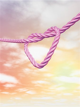 Heart-shaped Knot Stock Photo - Rights-Managed, Code: 700-03665641