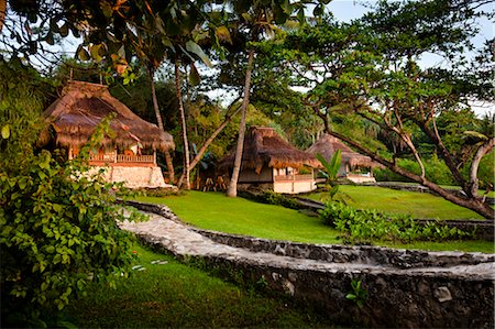 Villas at Nihiwatu Resort, Sumba, Lesser Sunda Islands, Indonesia Stock Photo - Rights-Managed, Code: 700-03665771