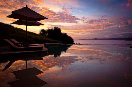 Sunset at Nihiwatu Resort, Sumba, Indonesia Stock Photo - Rights-Managed, Code: 700-03665794