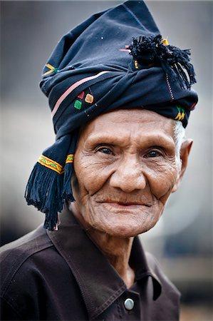 Portrait of Man, Waihola Village, Sumba, Indonesia Stock Photo - Rights-Managed, Code: 700-03665817