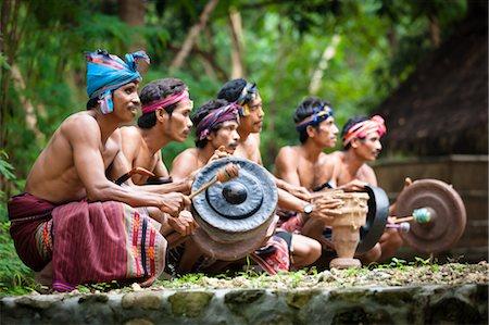 Traditional Musicians, Nihiwatu, Sumba, Indonesia Stock Photo - Rights-Managed, Code: 700-03665845