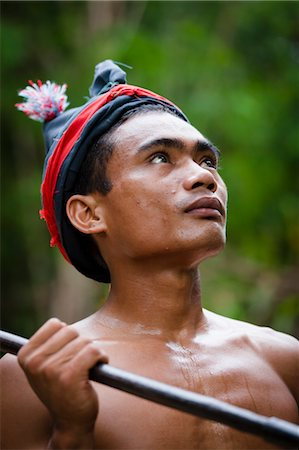 Traditional Dancer, Nihiwatu, Sumba, Indonesia Stock Photo - Rights-Managed, Code: 700-03665846