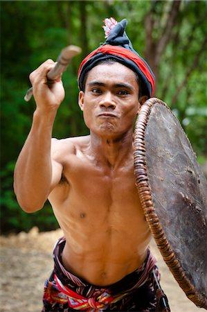 Traditional Dancer, Nihiwatu, Sumba, Indonesia Stock Photo - Rights-Managed, Code: 700-03665847